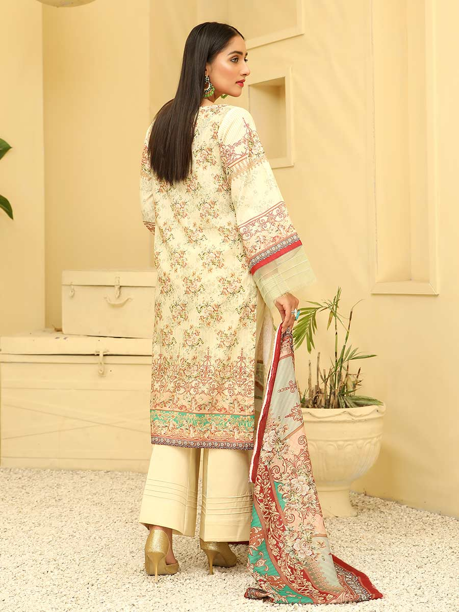 Aalaya Embroidered Lawn Vol A8 2021 D#01