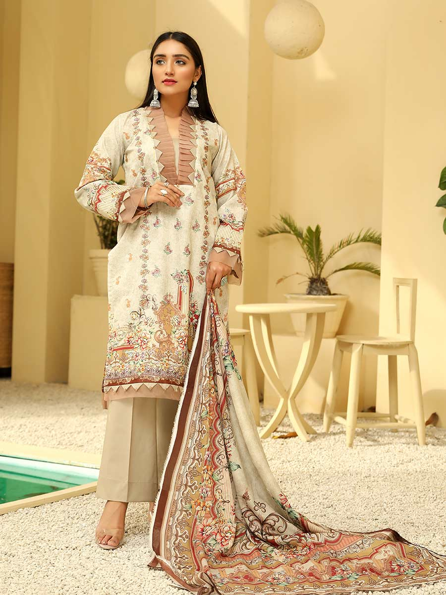 Aalaya Embroidered Lawn Vol A8 2021 D#03