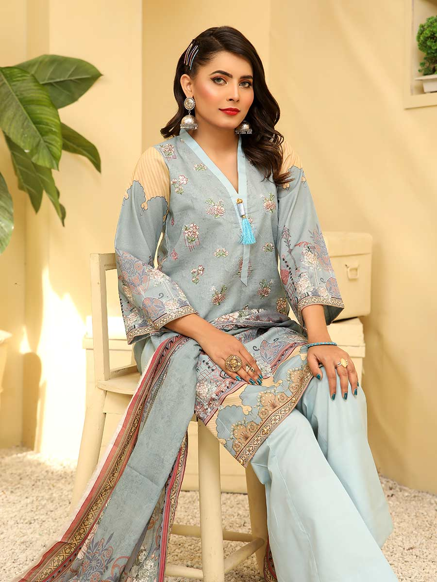 Aalaya Embroidered Lawn Vol A8 2021 D#07