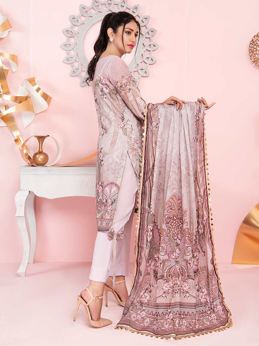 Aalaya Mother Collection Lawn Vol B8 2021 D#09