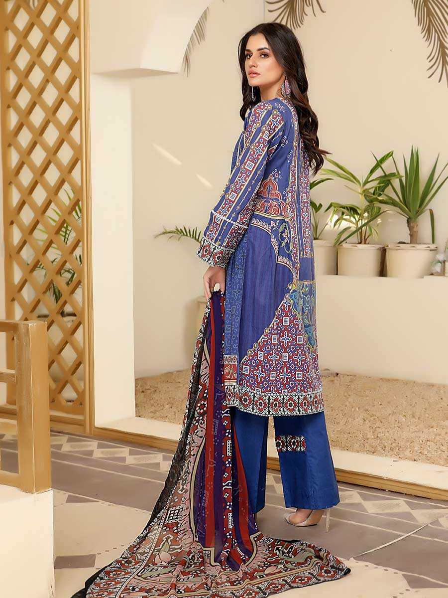 Aalaya Embroidered Lawn Vol B9 2021 D#09