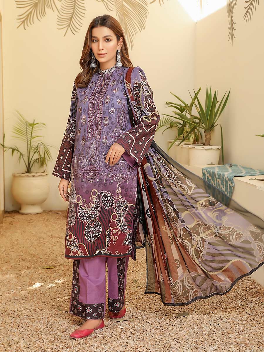 Aalaya Embroidered Lawn Vol B9 2021 D#10