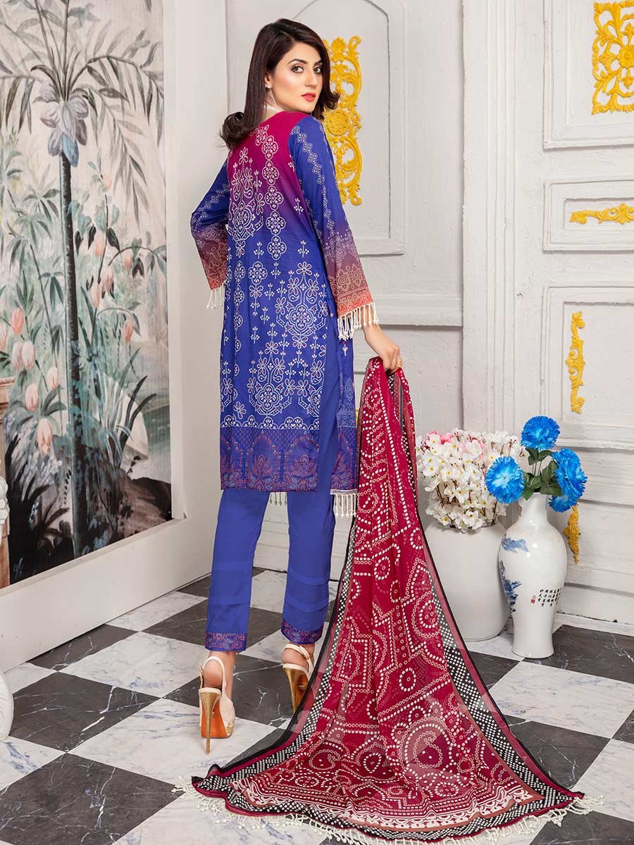 Aalaya Lawn Chunri collection Vol 05 2021 D#08