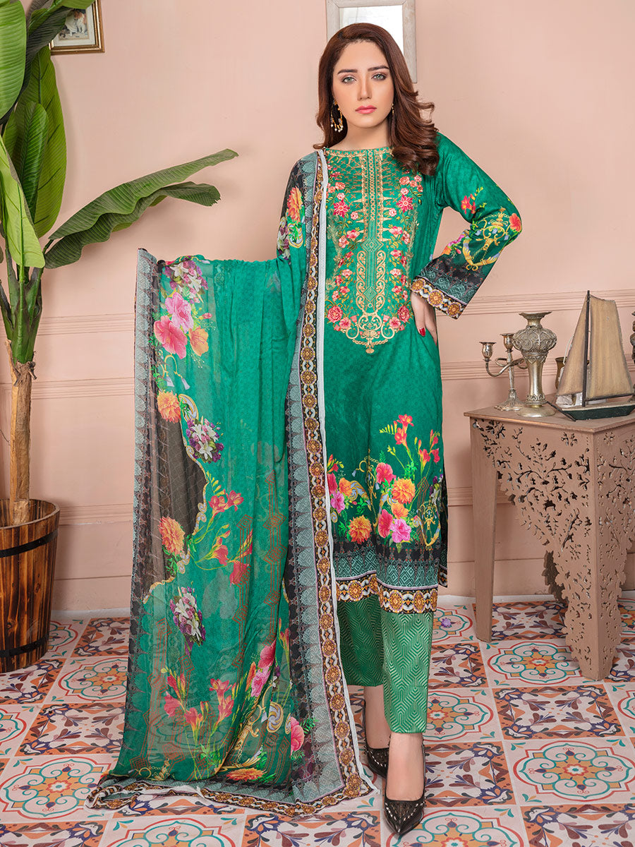 Aalaya Stitch Lawn Vol 13 2020 D#03