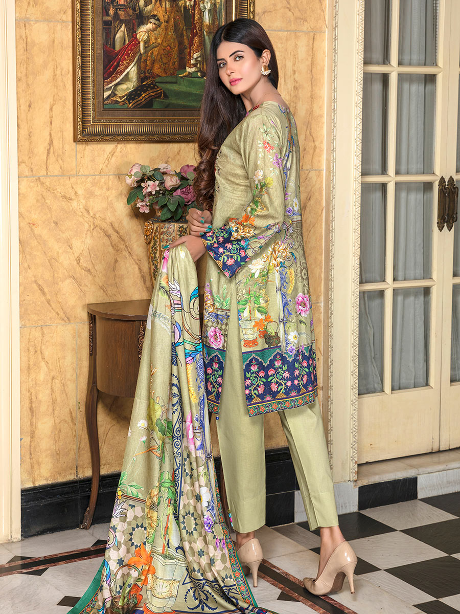 Aalaya Stitch Lawn Vol 15 2020 D#10