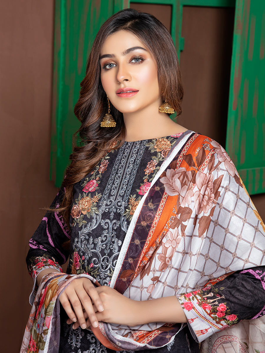 Aalaya Stitch Lawn Vol A10 2020 D#02
