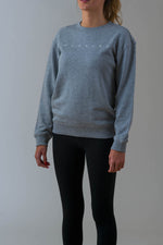 Ladies Axel Crew in Grey