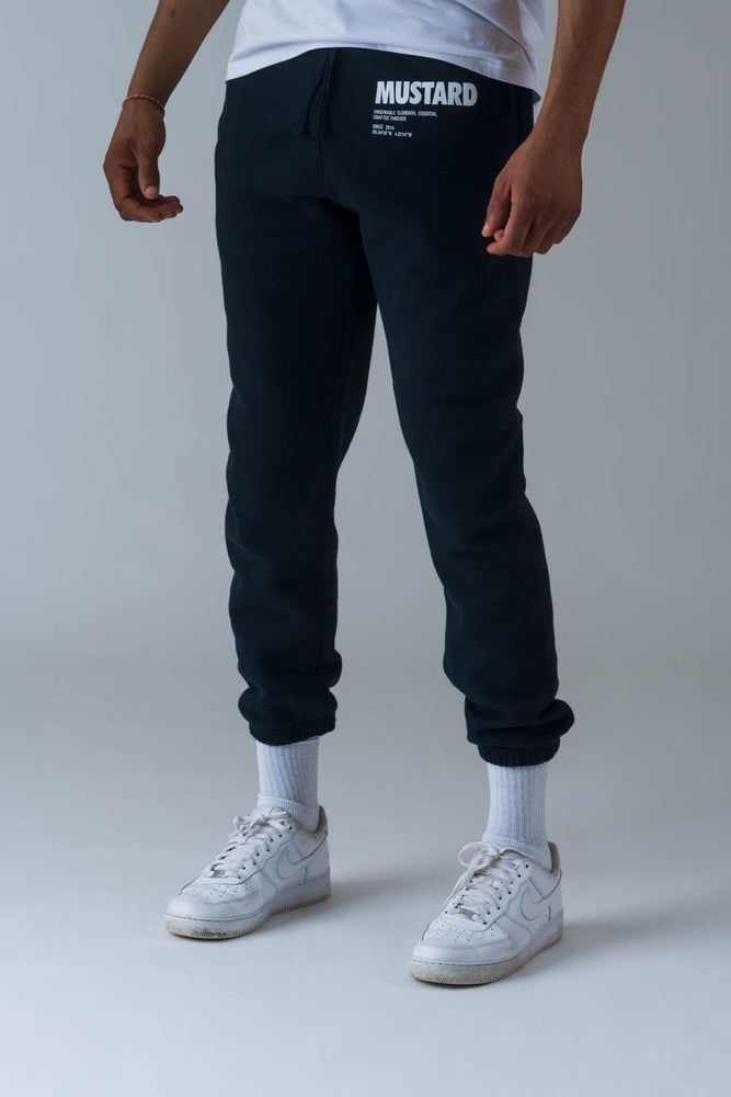 Mens Pillars Sweatpants in Navy