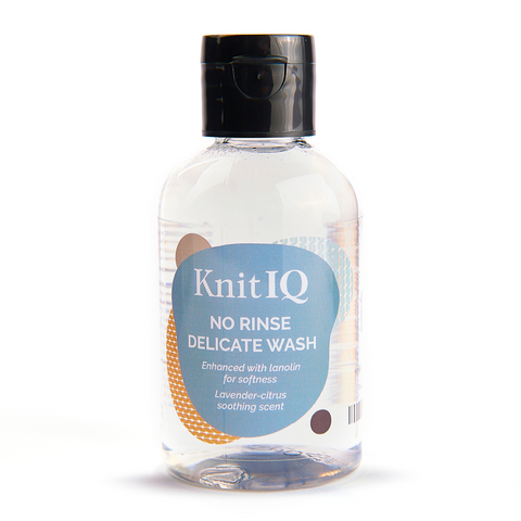 KnitIQ No Rinse Delicate Wash Lavender Citrus, 4 Oz / 100ml