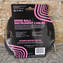 Load image into Gallery viewer, Ernie Ball 10ft Straight Straight Inst Cable Black