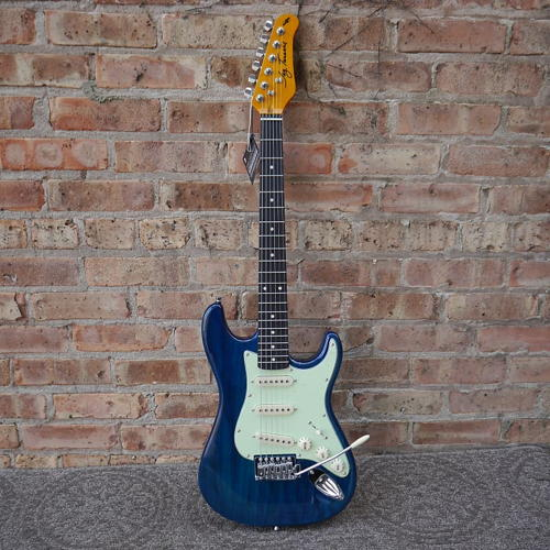 Jay Turser 3/4 Electric Guitar Trans Blue