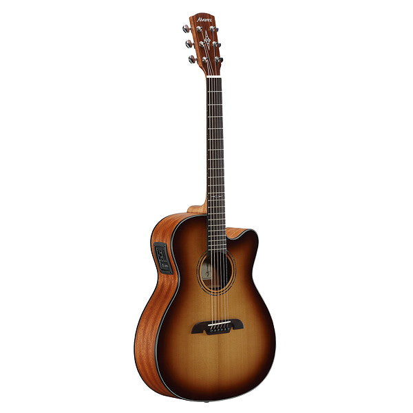 Alvarez Artist OM/Folk Acoustic Electric w/Cutaway EQ & Tuner Shadowburst