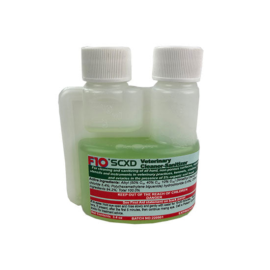 Pure Clean BIO F10SCXD Veterinary Disinfectant/Cleanser - 3.4 oz
