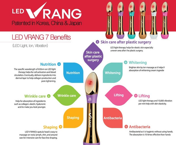 LED Vrang Korean Beauty Bar System Light Therapy
