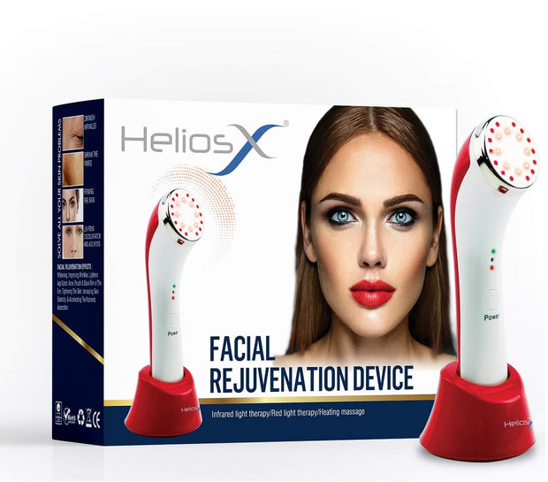 Helios X Facial Rejuvenation LED Infrared Light & Heat Therapy