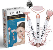 Rose Quartz Lift Bar 3-In-1 Facial Roller