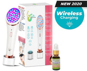 Lyte Wireless LED Light Therapy w/Hylauronic Serum