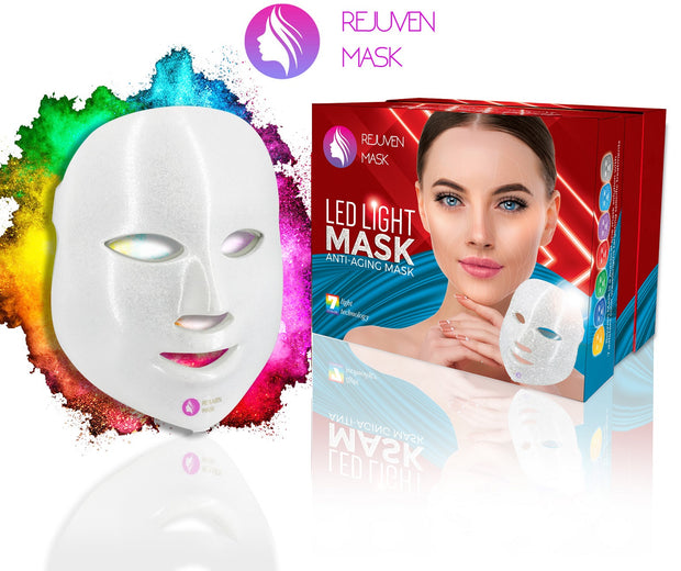 Rejuven Mask Pro LED Light Therapy Mask for Anti-aging