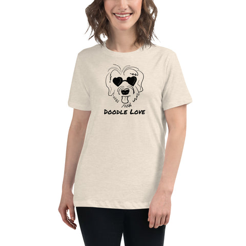 Doodle Love! Women's Relaxed T-Shirt
