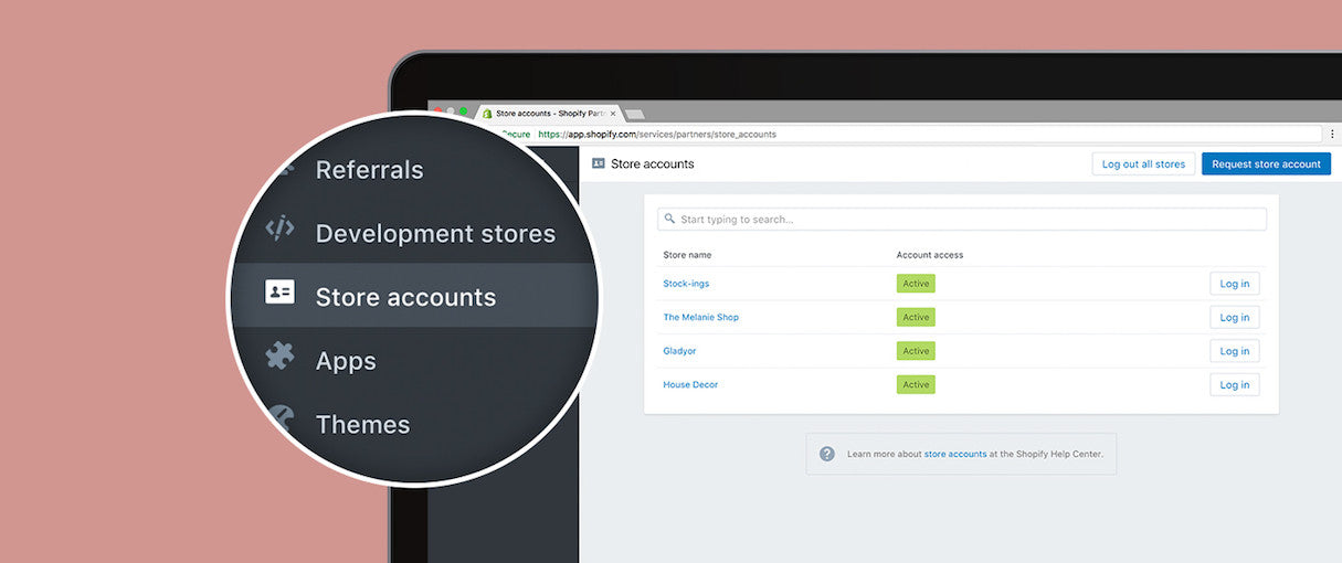You Can Now Easily Access Client Stores with Collaborator Accounts