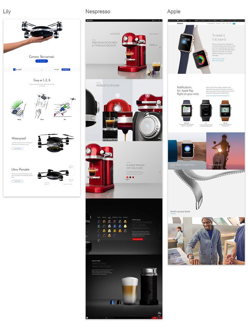 Building narrative shopify new theme for storytelling: Product pages