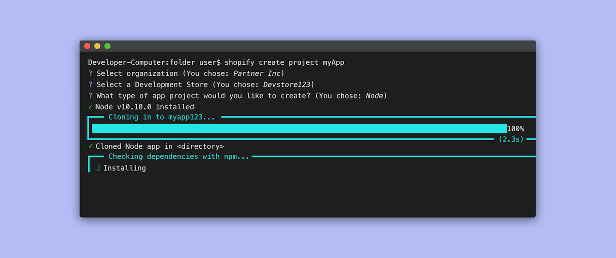 The Shopify App CLI: A Tool to Help You Build Faster