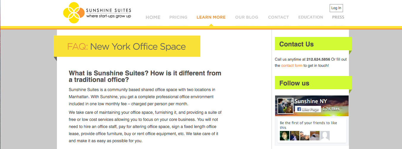 Coworking Spaces NYC: Sunshine Suites, The South Bronx Business Incubator