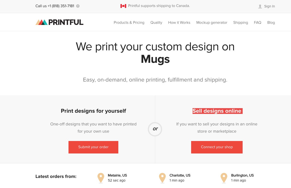 Designing with Customer Service in Mind - Printful