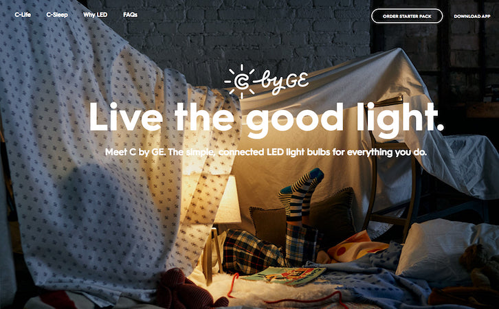 Ecommerce-Website-Design: C by GE