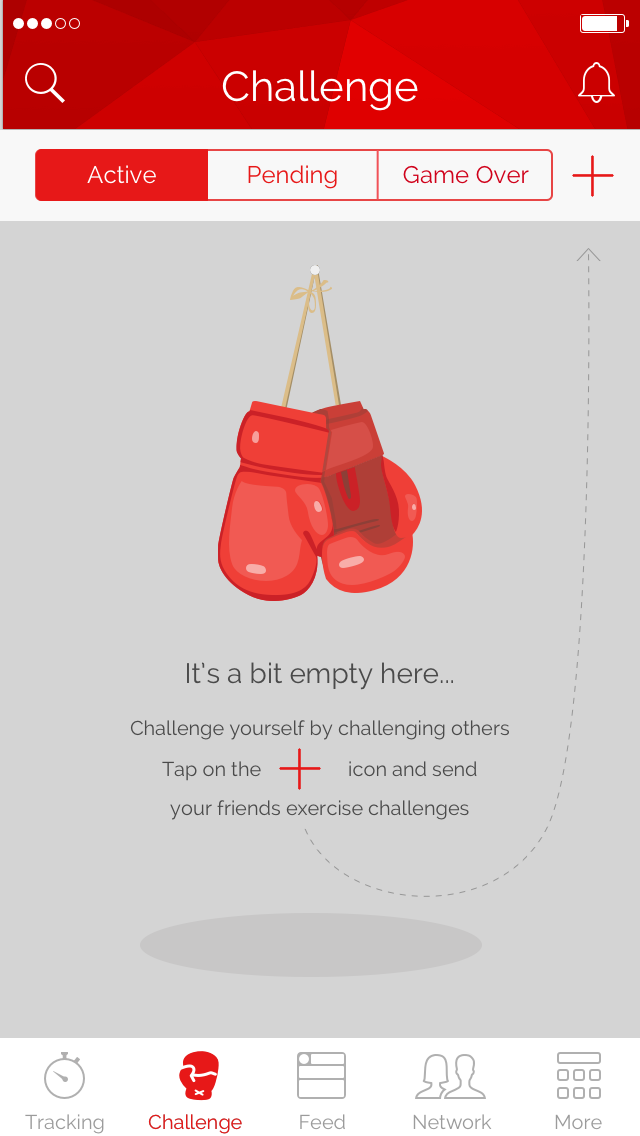Mobile app onboarding: Khaylo workout app