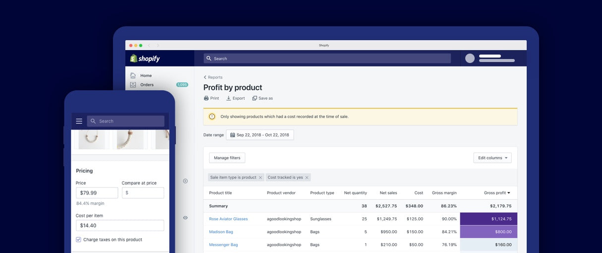 Product cost API: Shopify developer digest November 2018