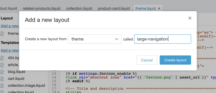 Product Page: Creating a Custom Liquid Theme