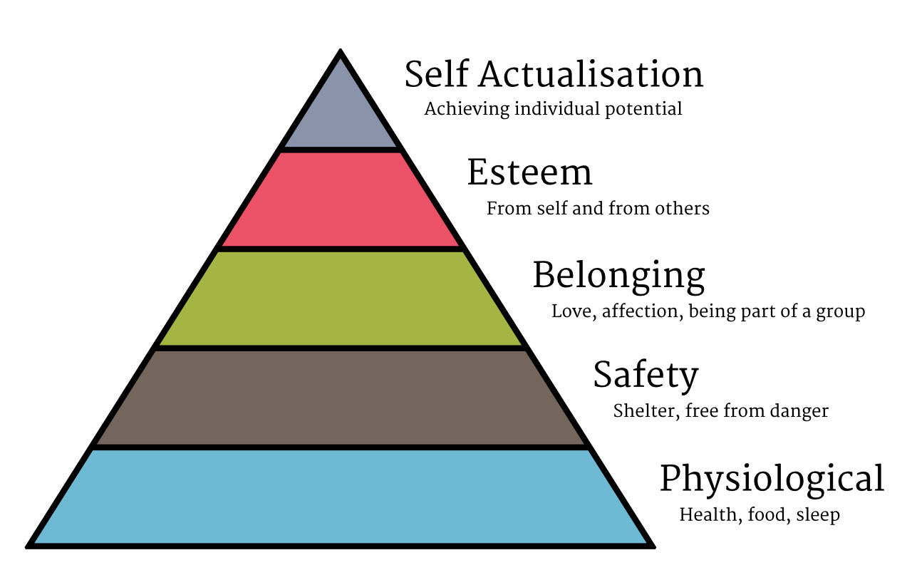 Psychology to shape ecommerce success: Maslow hierarchy of needs