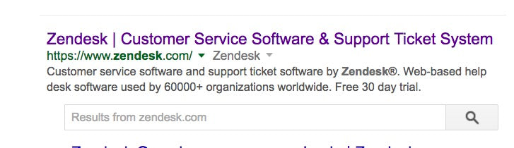 Reduce Bounce Rates: Zendesk Google Ad