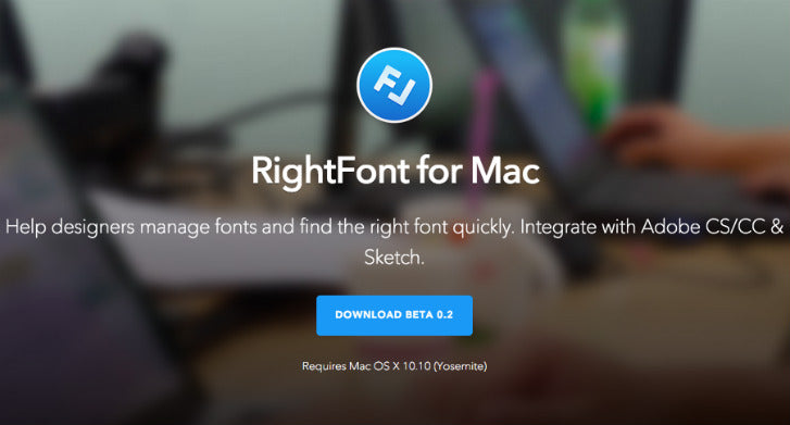 RightFont Web Design Tool for Font Management