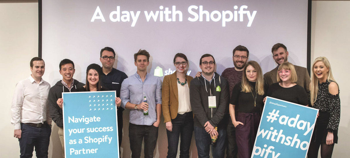 A Day With Shopify: A Community Making Connections