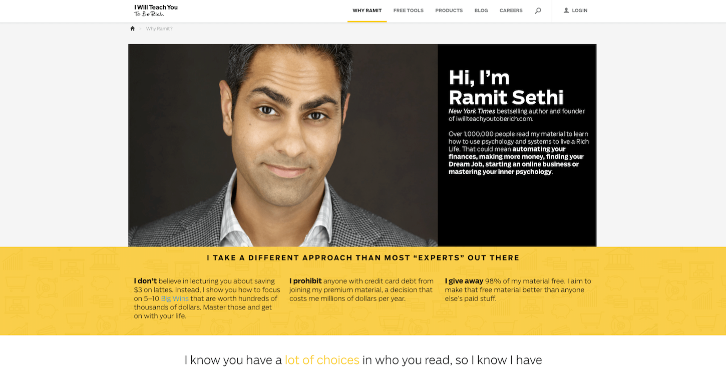 affiliate marketing: ramit