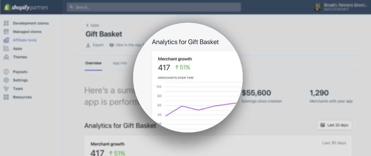 New to Your Partner Dashboard: A Clear View of App Analytics