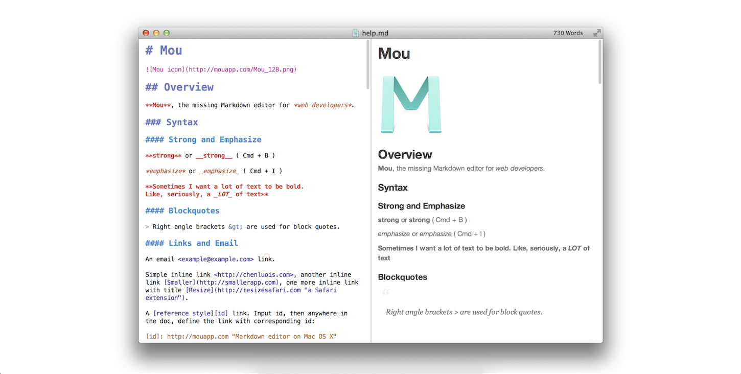 best-markdown-editor-mou