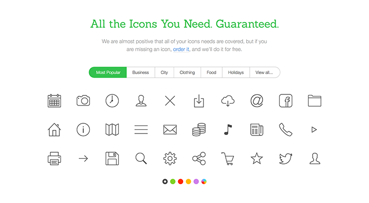 Best resources for downloading icon packs: Icons8
