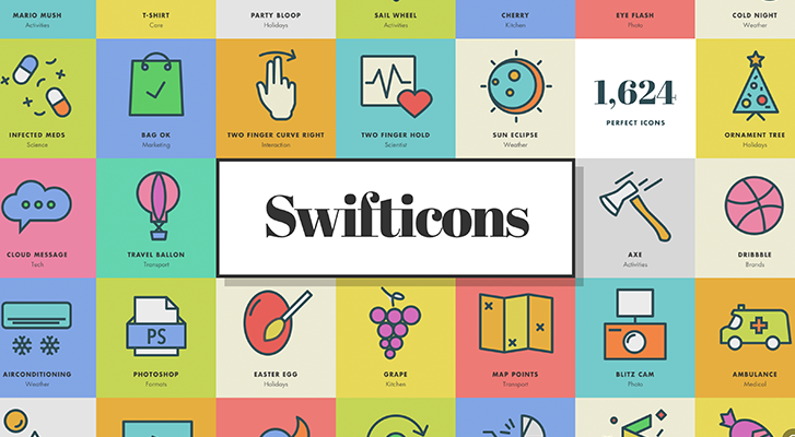 Best resources for downloading icon packs: Swifticons