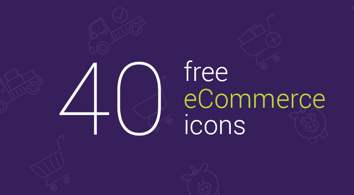 40 free ecommerce icons for download