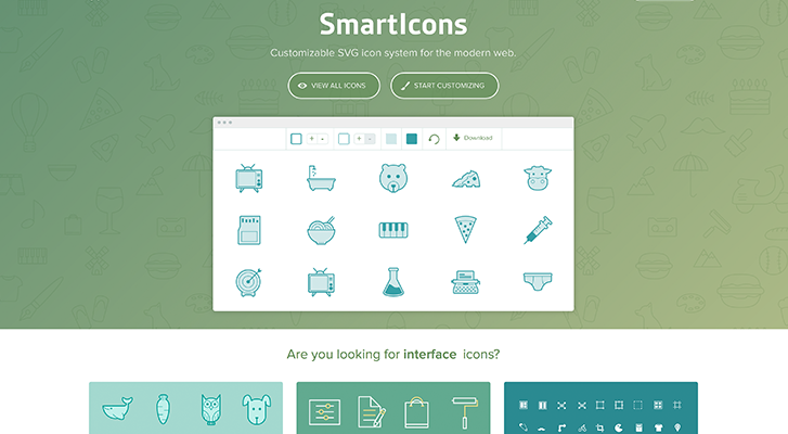 Best resources for downloading icon packs: SmartIcons