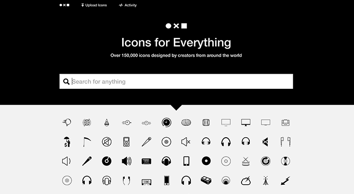 Best resources for downloading icon packs: The Noun Project