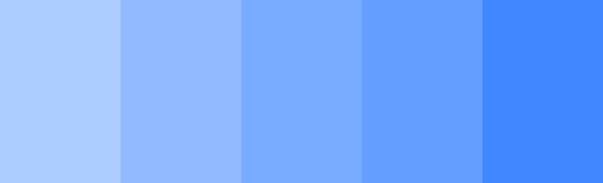 best website color schemes: shades of blue