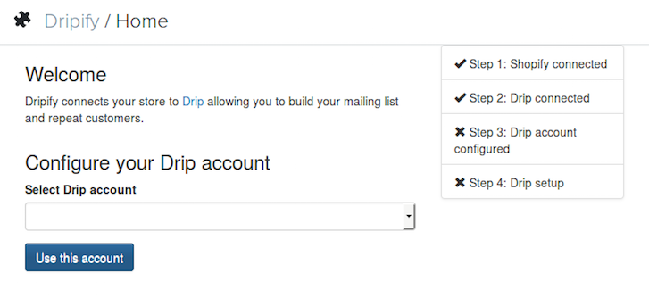 Building a Shopify App in One Week: Dripify