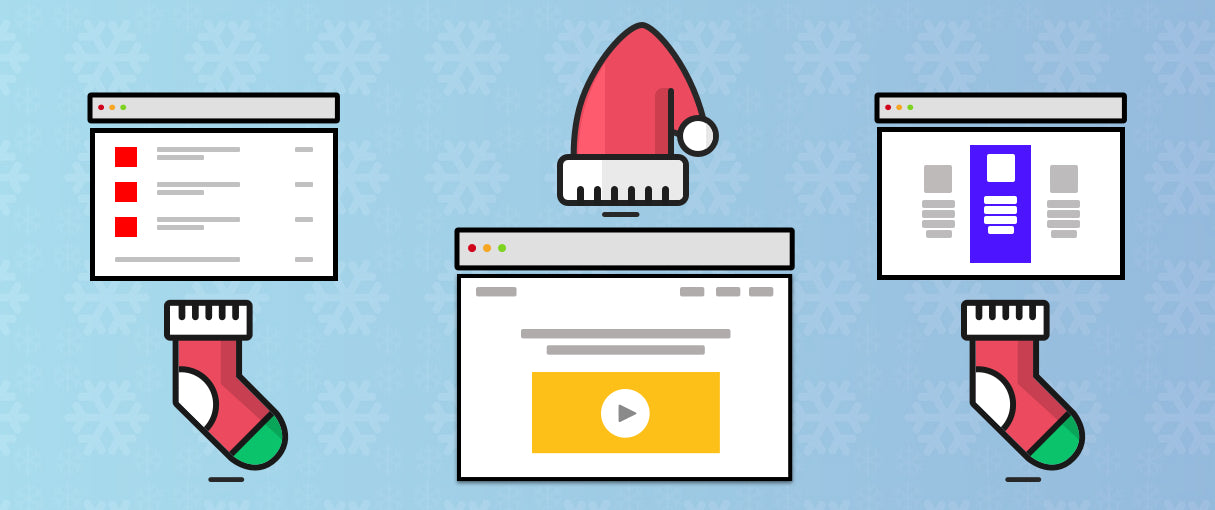10 Beautiful Christmas-Themed Ecommerce Websites to Get You in The Holiday Spirit