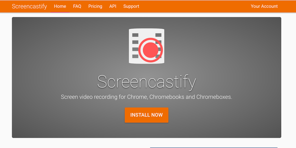 Chrome Extensions: Screencastify