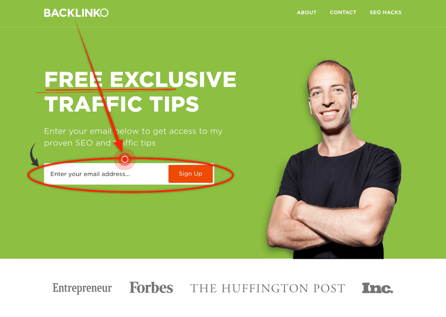 content marketing funnel: backlinko