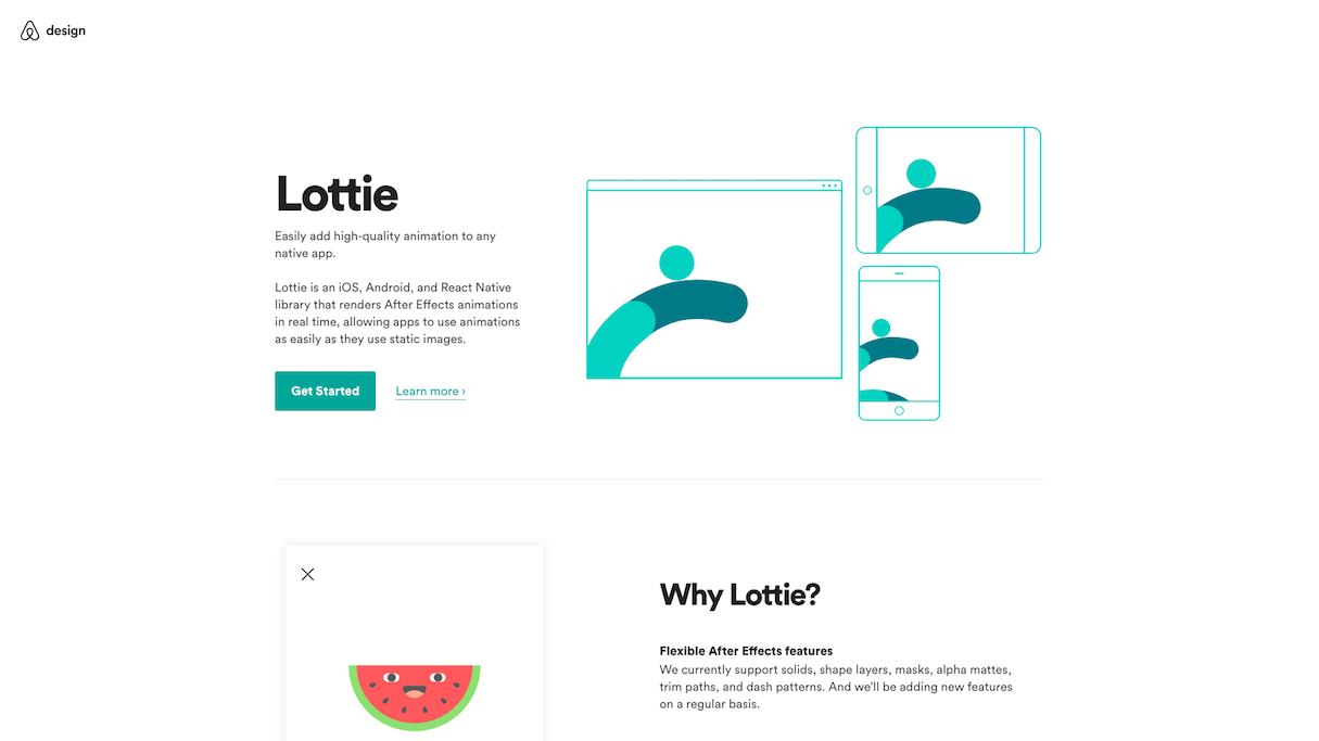 Continual learning in web design and development: Lottie